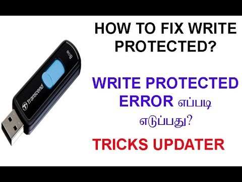 #1 How to remove Write Protect for Pendrive