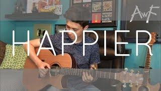 Download Happier - Marshmello ft. Bastille - Cover (fingerstyle guitar) Video