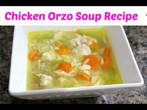 Cook With Me! Chicken Orzo Soup | Terrific planner