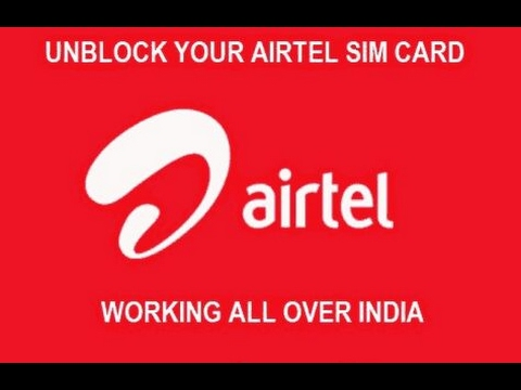 Unblocking Airtel sim for free internet easy trick....