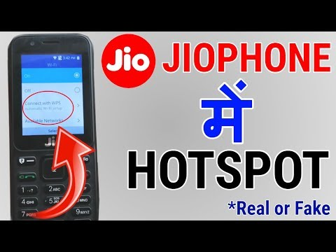 Can we Use Hotspot in Jio Phone ?  Make Or Enable Wifi Hotspot In JioPhone ?  Don't be Fool  |