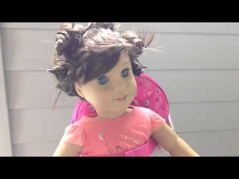 How to pin-curl your AG dolls hair!