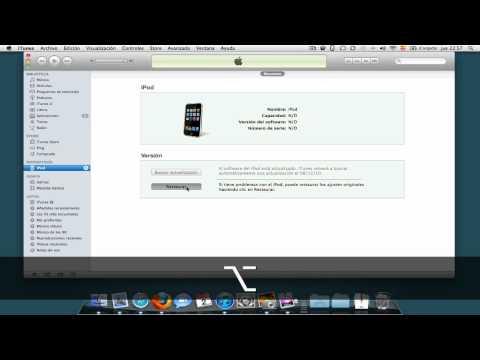 Jailbreak iOS 4.2.1 con Redsn0w iPod 2G (Parte 1)