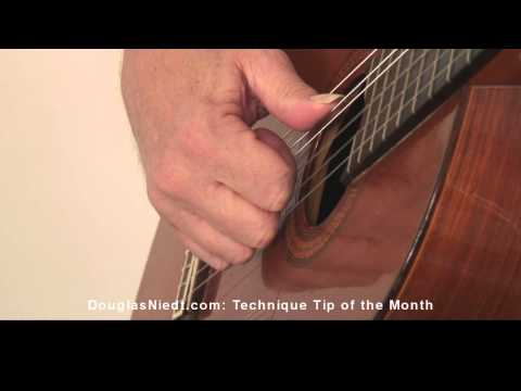 How to Find a Good Right Hand Position for Classical Guitar