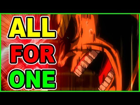 ALL For ONE IS HERE!! My Hero Academia Season 3 Episode 9 Episode 47