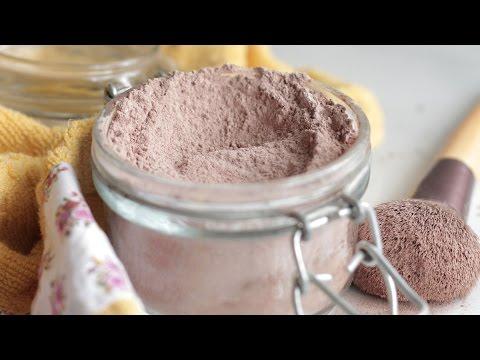 DIY Homemade Foundation Powder