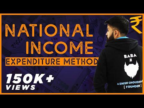 National Income - Expenditure method -Part 1  - CommerceBaba - Macro Economics Class XII CBSE