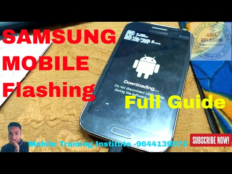 All Samsung Mobile Flashing Without Box Step By Step [Hindi/Urdu] Full Guide | Asia Telecom