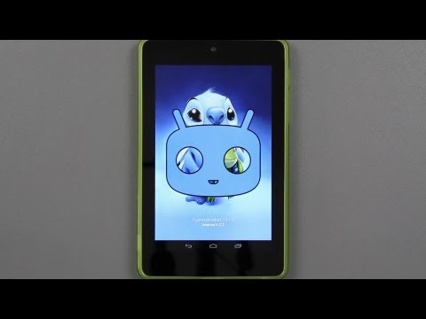 How To Install CyanogenMod 10.1 Android 4.2.2 Jelly Bean on the Nexus 7!