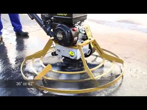 H Power Power Trowel driven by Rato Engine @CYMOT