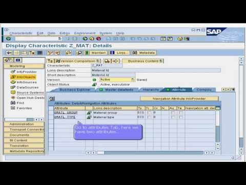 19. How to Create Data Source for Master Data Texts in SAP Business Intelligence (BI / BW)