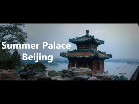 Summer Palace, an Imperial Garden in Beijing, China 4K