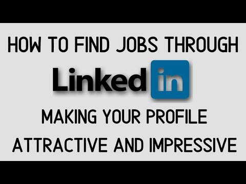 How to Use linkedin to Find a Job Part 1 | Linkedin Tips