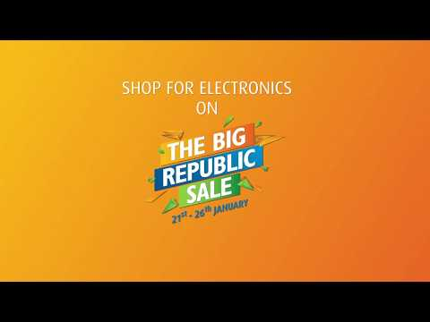 The Big Republic Sale exclusively on EMI Store