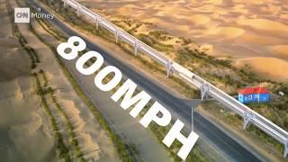 Future Arrived-HYPERLOOP ONE 2017    FIFTH MODE OF TRANSPORTATION   FUTURE TRANSPORT
