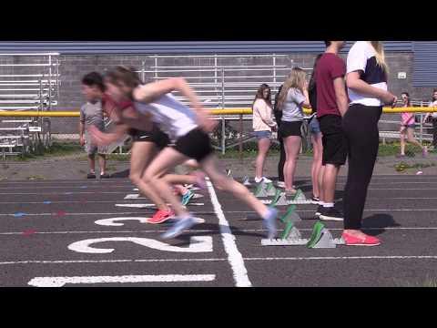 Sault Ste. Marie High School Track and Field meet