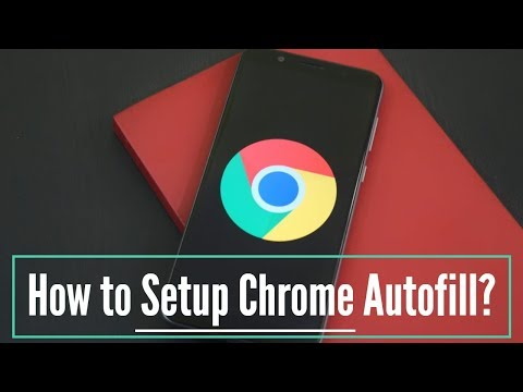 how to use autofill option in chrome