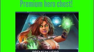 10x premium hero chest opening! | injustice 2