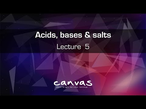 Class 10 ||  Acids, Bases and Salts : Lecture 5  CBSE | NCERT