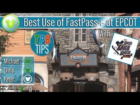 Best Use of Disney's FastPass+: EPCOT