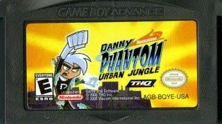 CGR Undertow - DANNY PHANTOM: URBAN JUNGLE review for Game Boy Advance
