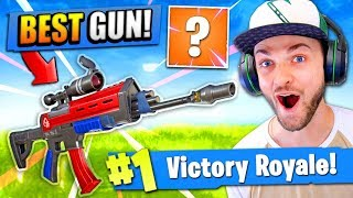 The *NEW* BEST GUN in Fortnite: Battle Royale! (MUST SEE)