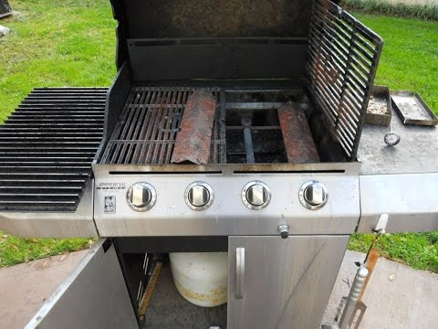 Rebuilding A Gas Propane Grill