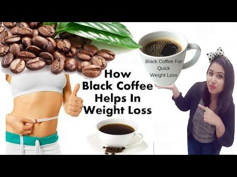 Quick weight loss 10 kg in 1 month with black coffee
