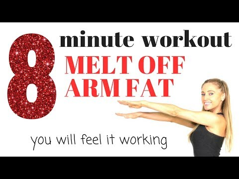 MELT OFF ARM FAT AND TONE YOUR ARMS - Fat burning moves with the best arm exercises for women