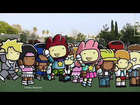 Official Scribblenauts Showdown Launch Trailer - Game Day :60
