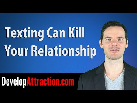 Texting Can Kill Your Relationship