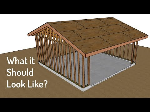 Watch This Video Before You Build A Two-Car Garage – Framing And Foundation