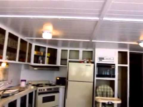 How to paint wood paneling and wood cabinets (video # 2 of 3)
