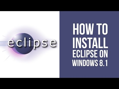How to install Eclipse on Windows 8.1