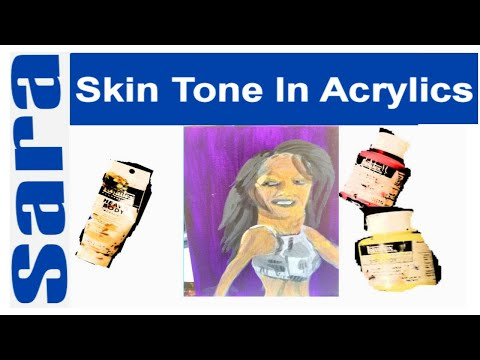 Painting Skin Tone In Acrylics