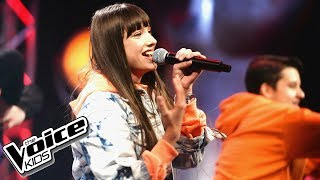 "Wiktoria Gabor - ""Time"" - Finał - The Voice Kids Poland 2"