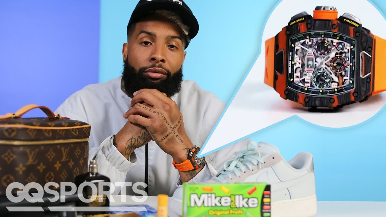 10 Things Odell Beckham Jr. Can't Live Without   GQ Sports