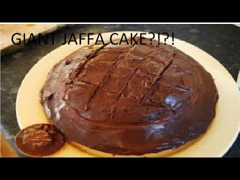 GIANT JAFFA CAKE?!?!
