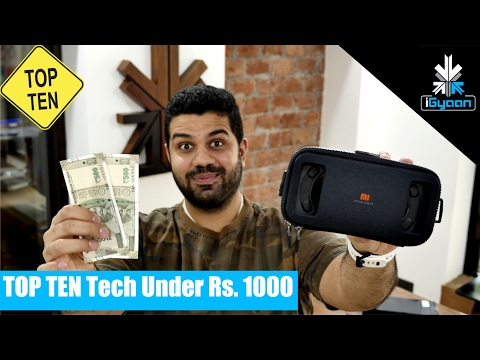 Top 10 Cool Tech Under Rs. 1000 - Budget Shopping Guide