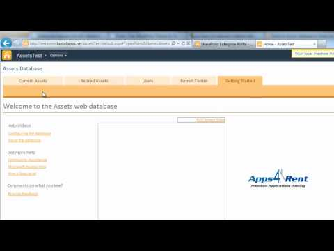 Sharepoint tutorial: Access Services in SharePoint 2010 Enterprise