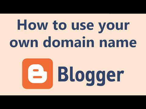 How to use a custom domain on your Blogger.com blog (2017)
