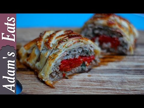 Sausage plait with fennel seeds | Christmas recipes