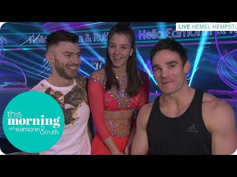 Dancing on Ice Finalists Jake, Brooke and Max Share Their Bolero Nerves | This Morning
