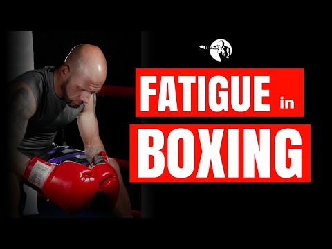 Fatigue in Boxing | 4 Areas of Fatigue | Get Better Stamina