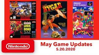 NES & Super NES - May Game Updates - Nintendo Switch Online