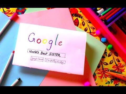 Easy DIY card for Sister   DIY Rakhi gift idea for sister   Gift for Sister