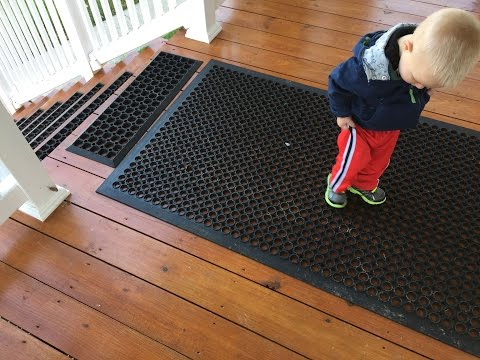 Prevent slips and falls on icy or wet steps and decks - without salt!