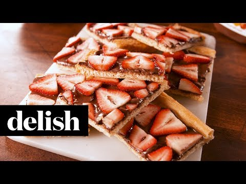 Nutella Strawberry Crescent | Delish
