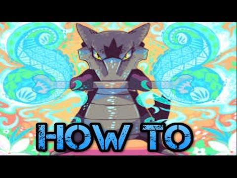 How to get Marowak in aloha - alola form