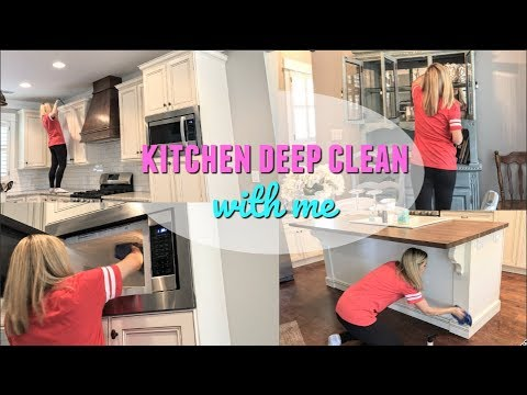 DEEP CLEAN WITH ME // MAJOR CLEANING MOTIVATION // CLEAN WITH ME 2018